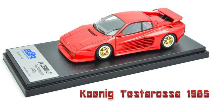 1/43 Koenig Testarossa / ケーニッヒ・テスタロッサ 1985年