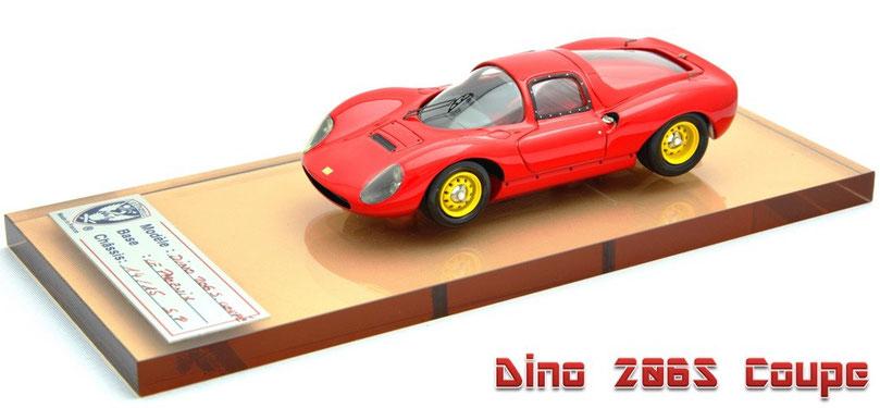 1/43 Le Phoenix AMR Dino 206S Coupe 1966  ディーノ 206S クーペ 1966年 ル・フェニックス