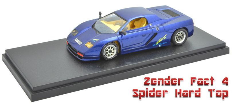 1/43 Zender Fact 4 Spider Hard Top 1992  ツェンダー・ファクト4・スパイダー・ハードトップ 1992年 Alezan アレザン