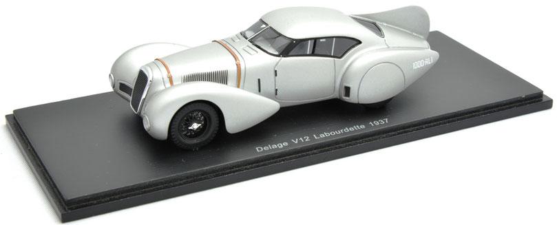1/43 Delage V12 Labourdette / ドラージュ V12 ラブールデット 1937年