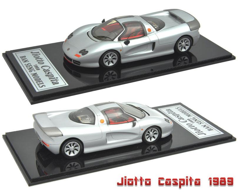 1/43 Jiotto Caspita / ジオット・キャスピタ 1号車 1989年