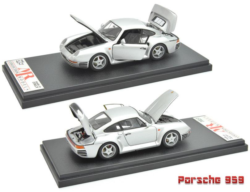 1/43 MR Collection Porshce 959, MRコレクション ポルシェ 959