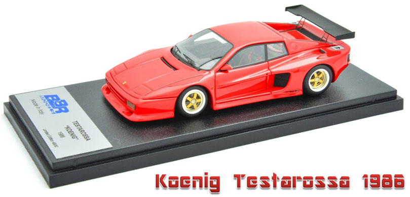 1/43 Koenig Testarossa / ケーニッヒ・テスタロッサ 1986年