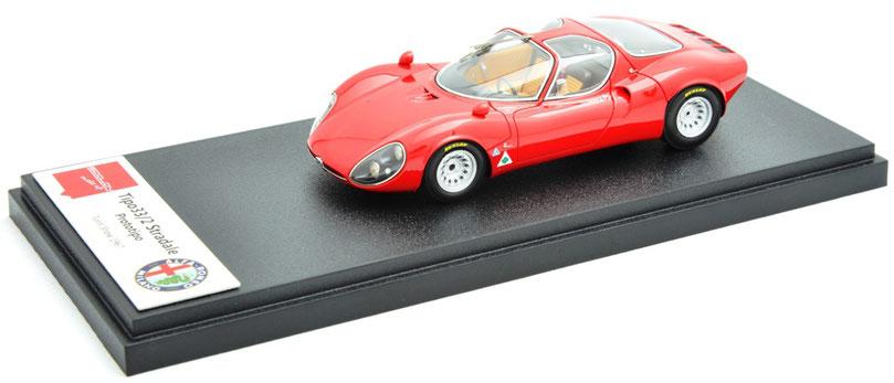 1/43 Alfa Romeo Tipo 33/2 Stradale / アルファ・ロメオ・ティーポ 33/2 ストラダーレ 1967年