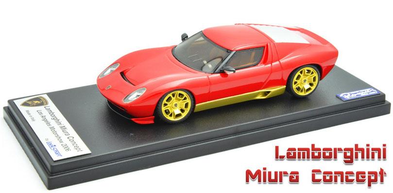 1/43 Lamborghini Miura Concept 2006   ランボルギーニ・ミウラ・コンセプト 2006年