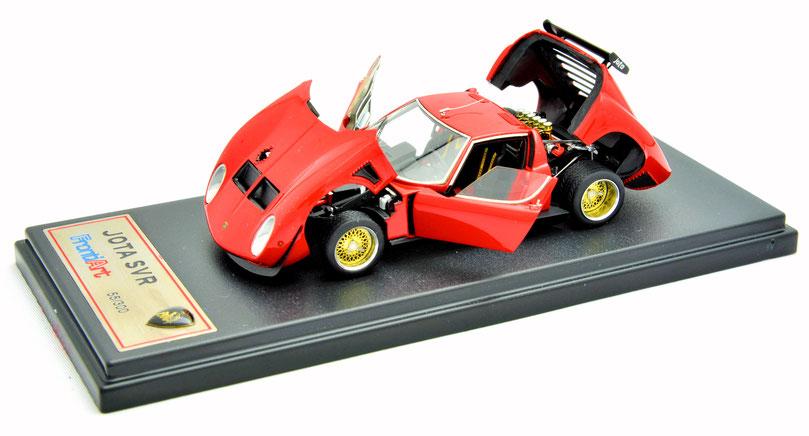 1/43 Lamborghini Jota SVR FrontiArt フロンティアート 1/43 レジン製 フル開閉 ランボルギーニ・イオタ SVR