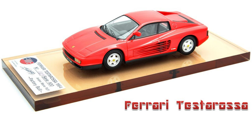 1/43 AMR Ferrari Testarossa 1984  フェラーリ・テスタロッサ 1984年
