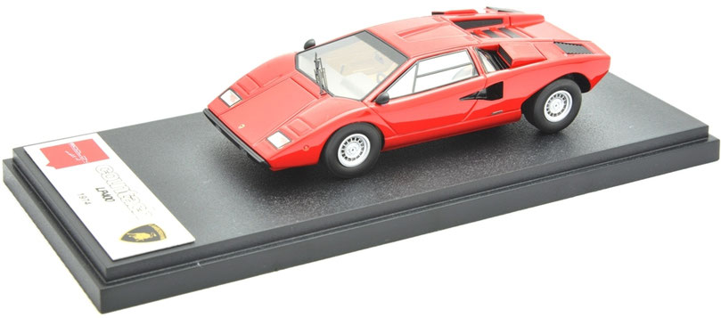 1/43 Lamborghini Countach LP400 1974 Make-up ランボルギーニ・カウンタック LP400 1974年 メイクアップ アイドロン