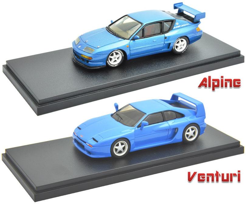 1/43 Alpine A610 Le Mans, Venturi 400GT, アルピーヌ A610 ル・マン, ベンチュリ 400GT, プロバンス・ムラージュ , , , ,