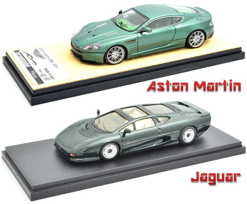 1/43 Aston Martin DBS, Jaguar XJ220, アストン・マーティン DBS, ジャガーXJ220, プロバンス・ムラージュ, テクノモデル
