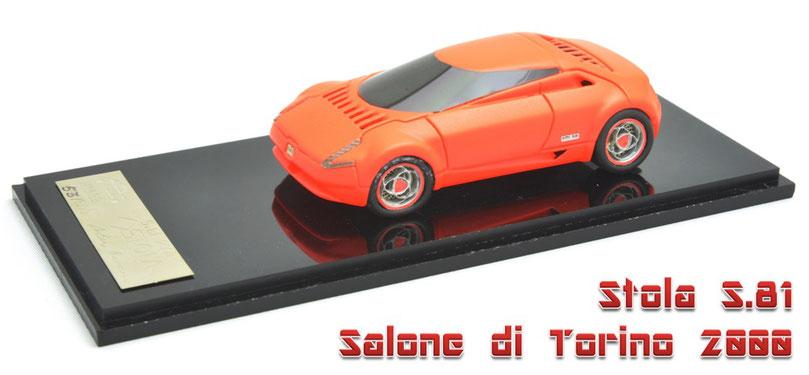 1/43 Stola S.81 Salone di Torino 2000 / ストーラ S.81 トリノショー2000年