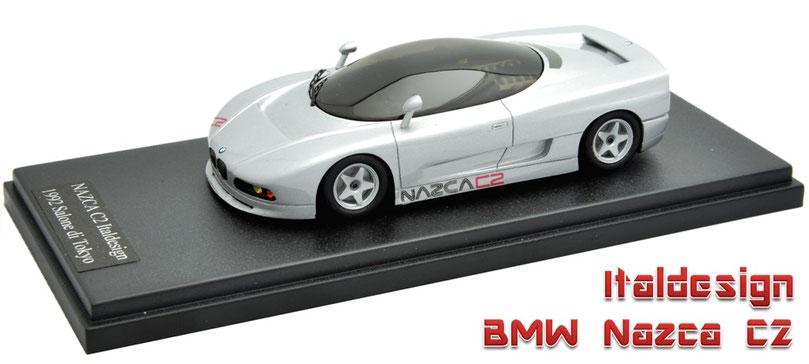 1/43 Provence Moulage Italdesign BMW Nazca C2 1992  プロバンス・ムラージュ イタルデザイン BMW ナスカ C2 1992年