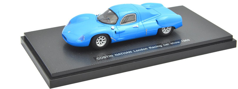 1/43 Costin Nathan London Racing Car Show / コスティン・ネイサン 1969年