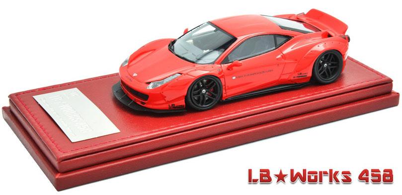 1/43 Ferrari 458 Italia, Liberty Walk, LB Works 458, フェラーリ 458 イタリア, リバティーウォーク