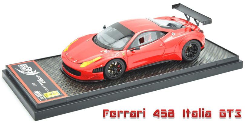 1/43 BBR Ferrari 458 Italia GT3 2011  フェラーリ 458 イタリア GT3 2011年