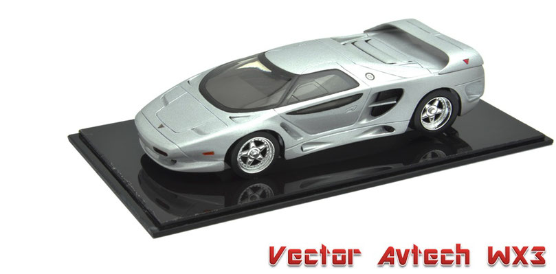 1/43 Vector Avtech WX3 / ベクター・アヴテック WX3 1992~93年
