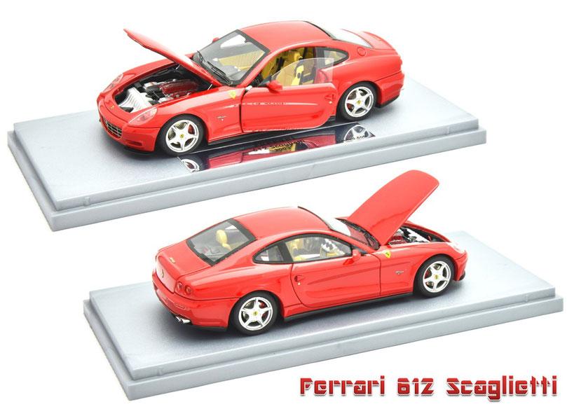 1/43 BBR Ferrari 612 Scaglietti, フェラーリ 612 スカリエッティ