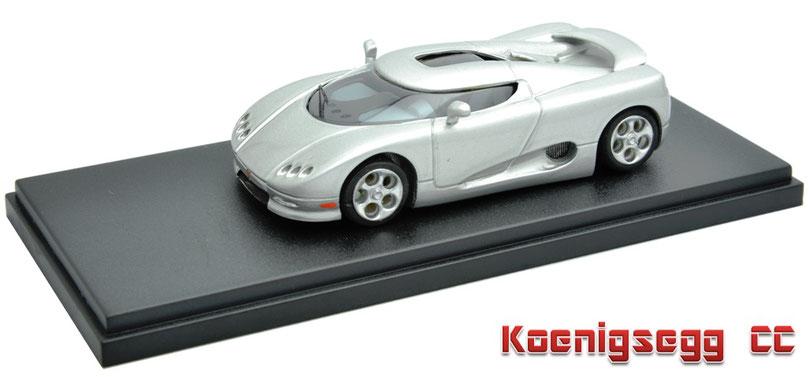 1/43 Koenigsegg CC Concept 2000 ケーニグセグ CC コンセプト 2000年