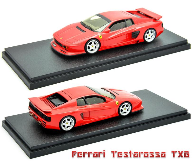 1/43 Ferrari Testarossa TXG フェラーリ・テスタロッサ TXG