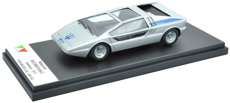 1/43 Maserati Boomerang Italdesign / マセラティ・ブーメラン・イタルデザイン 1972年