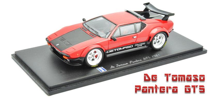 1/43 De Tomaso Pantera GT5 1981  デ・ソマソ・パンテーラ GT5 1981年