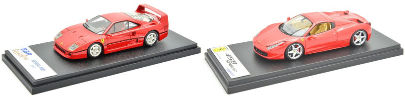 1/43 Ferrari V8 Road Car / フェラーリ V8 ロードカー