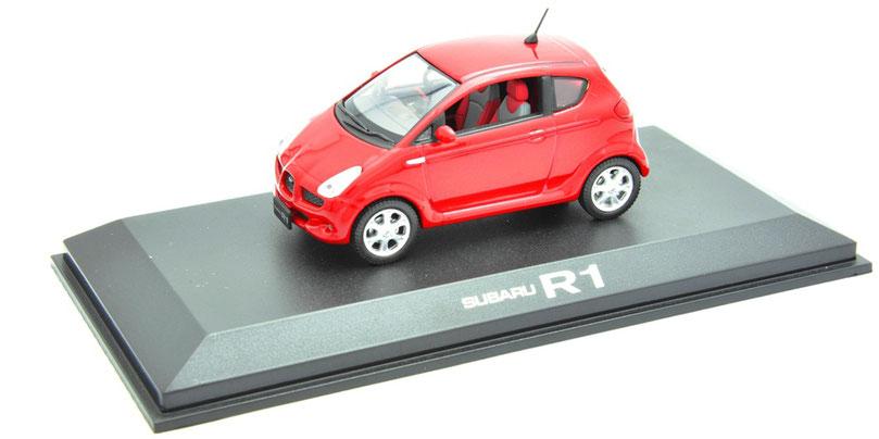 1/43 Subaru R1 / スバル R1 2005~10年