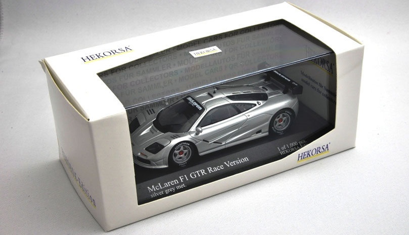 1/43 McLaren F1 GTR Race Version マクラーレンF1 GTR HEKORSA