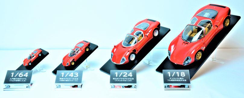 Alfa Romeo Tipo 33/2 Stradale アルファロメオ・ティーポ 33/2 ストラダーレ モデルカー 1/64 1/43 1/24 1/18
