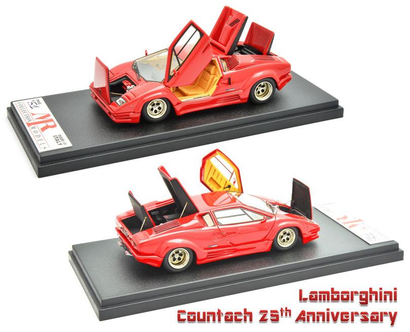 1/43 BBR Lamborghini Countach 25th Anniversary, ランボルギーニ・カウンタック 25th アニバーサリー