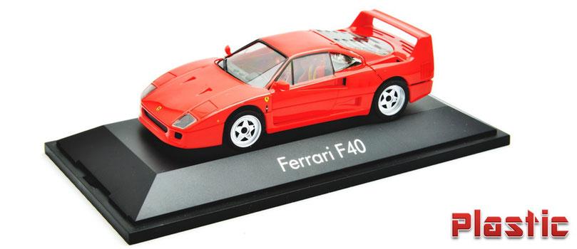 1/43 Helpa Ferrari F40 フェラーリF40 フル開閉 ヘルパ