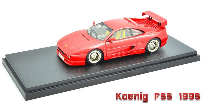 1/43 Koenig F55 / ケーニッヒ F55 1995年