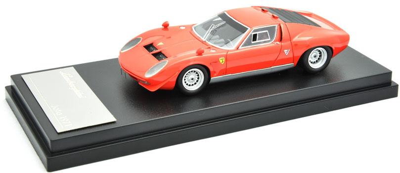 1/43 Lamborghini Jota (Original J) / ランボルギーニ・イオタ(オリジナルJ )1970年