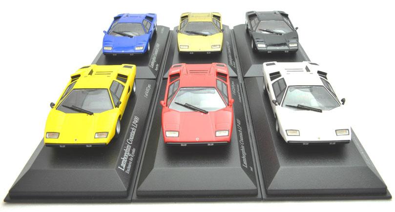 1/43 Minichamps Lamborghini Countach LP400, ミニチャンプス ランボルギーニ・カウンタック LP400