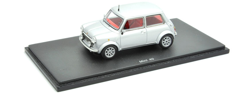 1/43 Rover Mini 40 (40th Anniversary Limited Edition) / ローバー・ミニ 40(40周年記念車) 1999年