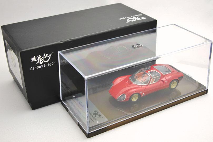 センチュリードラゴン 1/43 Alfa Romeo Tipo 33/2 Stradale アルファロメオ・ティーポ 33/2 ストラダーレ