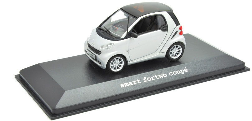 1/43 Smart Fortwo Coupe MKII / スマート・フォーツー・クーペ・マークⅡ 2007~14年