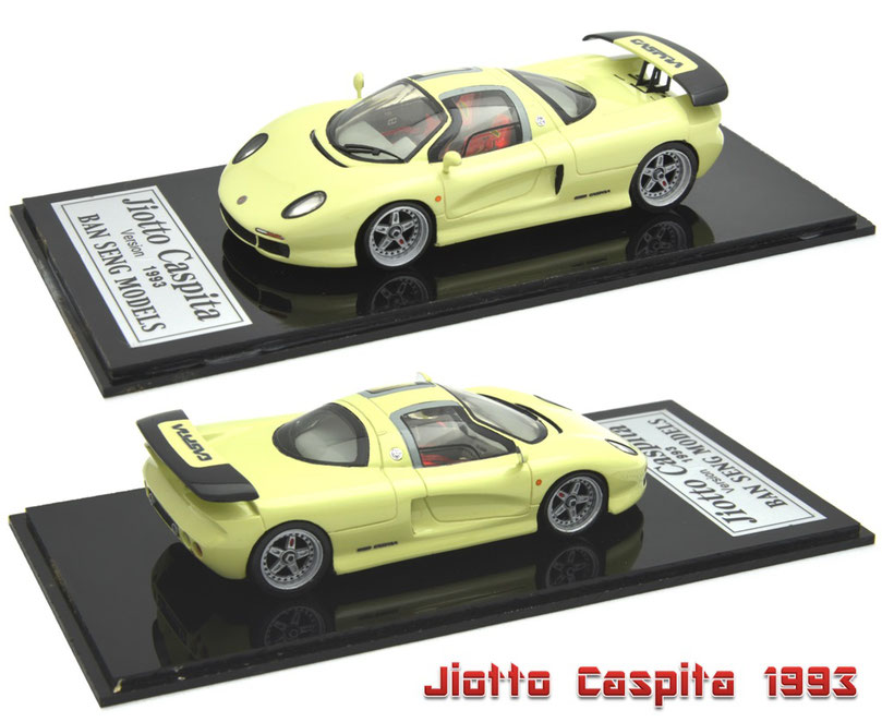 1/43 Jiotto Caspita / ジオット・キャスピタ 2号車 1993年