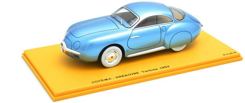 1/43 Socema-Gregoire Turbine / ソセマ・グレゴワール・ターバイン(ガスタービンエンジン) 1952年