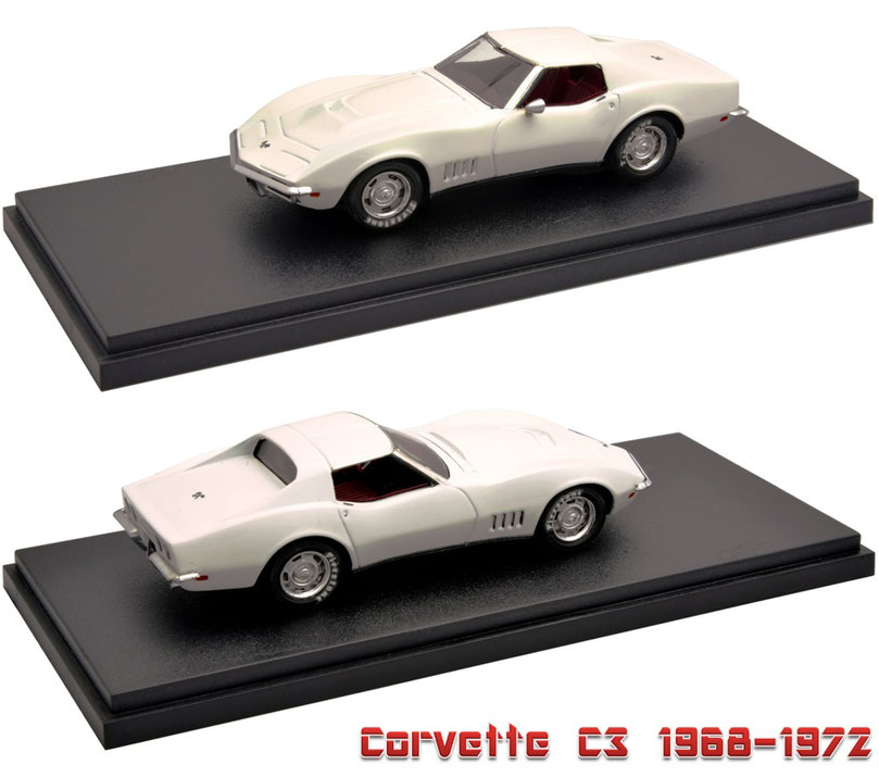 1/43 Corvette C3 1968-1972 シボレー・コルベット C3