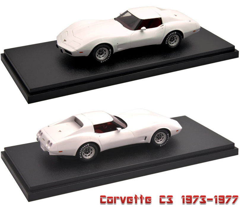 1/43 Corvette C3 1973-1977 シボレー・コルベット C3