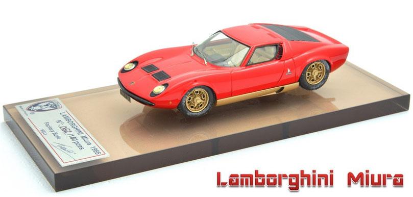 1/43 Le Phoenix AMR Lamborghini Miura P400 1966 ル・フェニックス ランボルギーニ・ミウラ P400 1966年