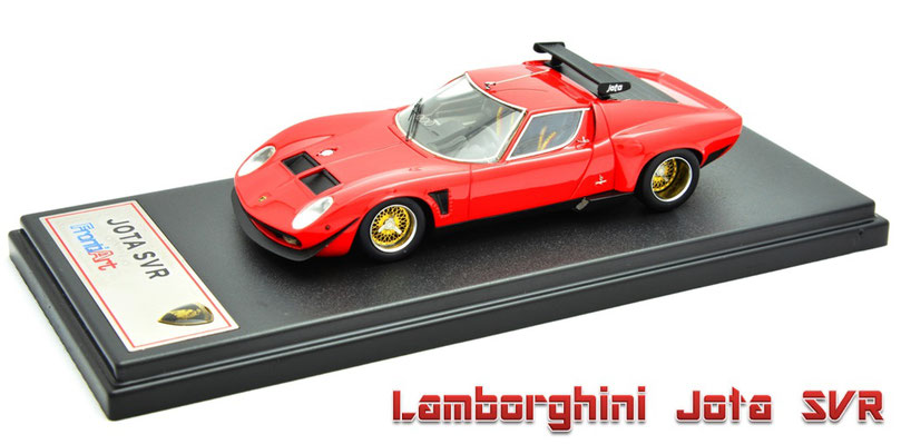 1/43 Lamborghini Jota SVR / ランボルギーニ・イオタ SVR 1975年