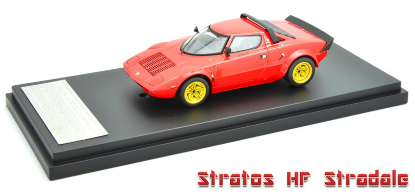 1/43 Lancia Stratos HF Stradale / ランチア・ストラトス HF ストラダーレ - ロードカー