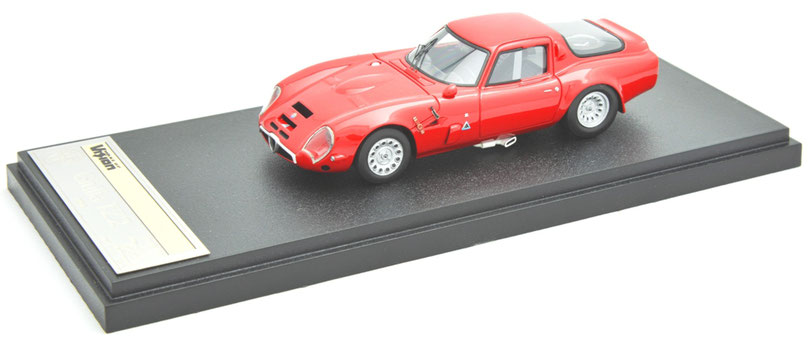 1/43 Alfa Romeo Giulia TZ2 / アルファ・ロメオ TZ2 1966年