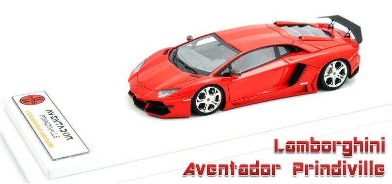1/43 Lamborghini Aventador Prindiville 2012   ランボルギーニ・アヴェンタドール・プリンディヴィル 2012年