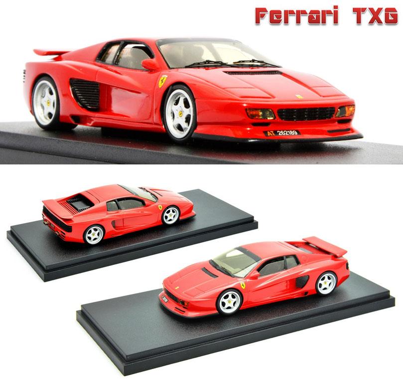 1/43 Ferrari Testarossa TXG, フェラーリ・テスタロッサ