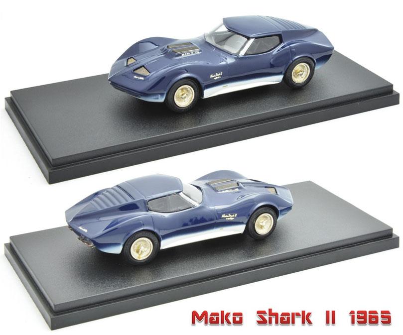 1/43 Mako Shark II / マコ・シャーク Ⅱ 1965年 SMTS