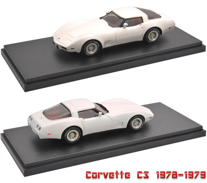 1/43 Corvette C3 1978-1979 シボレー・コルベット C3