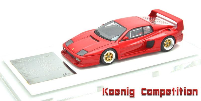 1/43 Koenig Competition 1988 ケーニッヒ・コンペティション 1988年